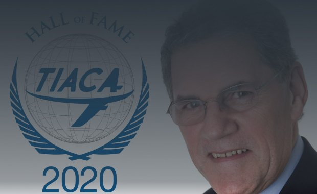 Larry Coyne inducted to TIACA Hall of Fame