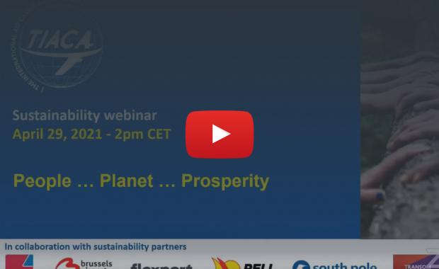 TIACA' Sustainability4Cargo Webinar